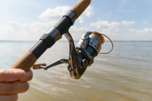 beach casting for cod